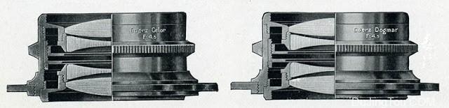 GOERZ BERLIN Doppel-Anastigmat CELOR 130mm F4.8 and DOGMAR 100mm F4.5高兹柏林 大画幅镜头测试及样片