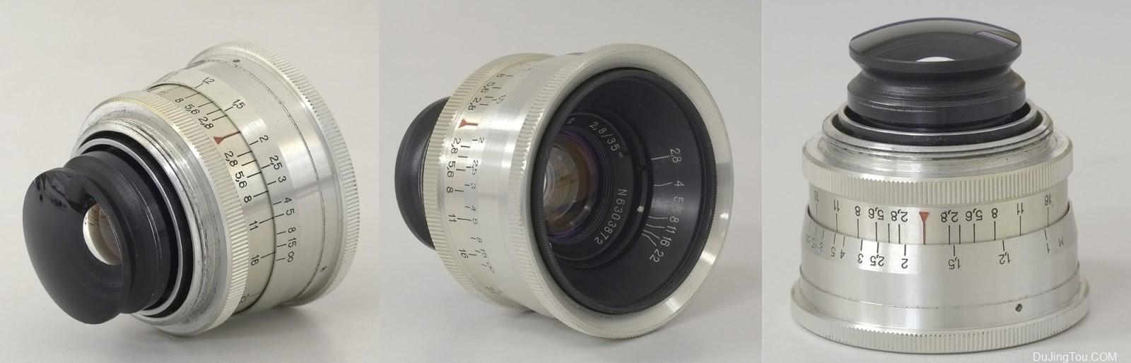 LZOS Jupiter-12 35mm F2.8 (L39)资料镜头测试和样片