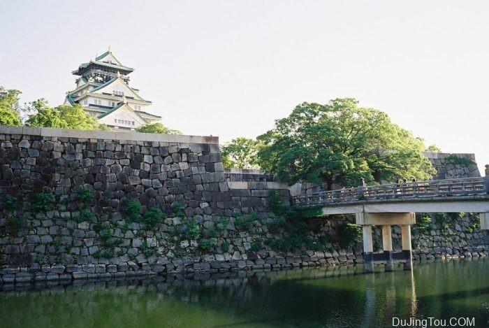 在大阪旅游时候拍摄电影胶片