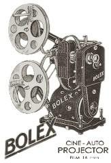帕拉德(Paillard)Bolex的投影仪幻灯机年代表