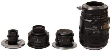 显微摄影中的放大镜头:放大镜头微距测试