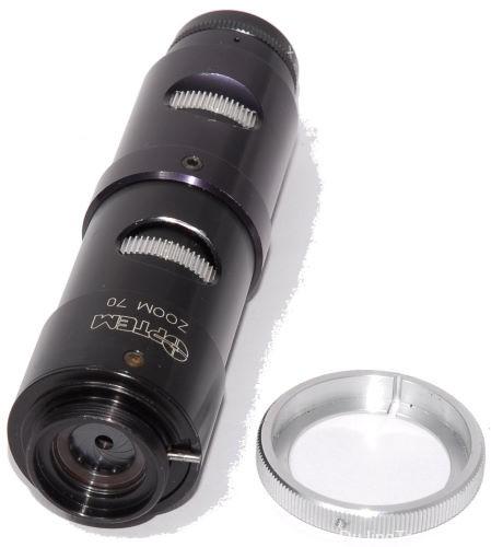 显微镜头摄影测试第4部分: 工业微距变焦镜头测试