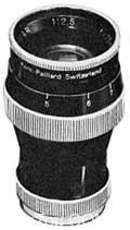 科恩 Kern 光学的历史以及镜头列表