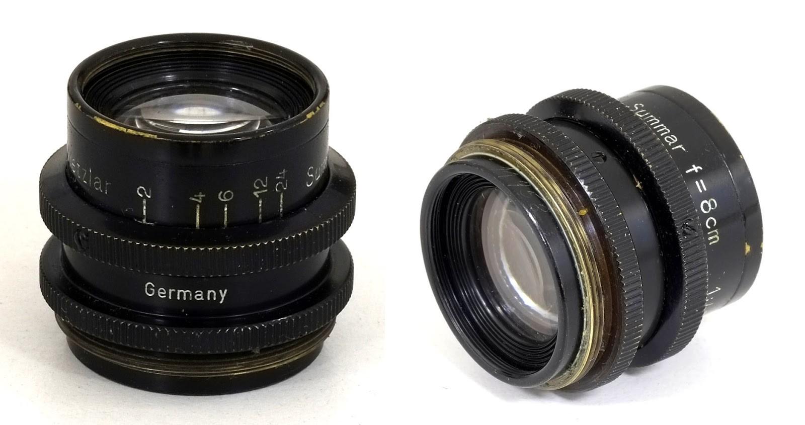 Ernst Leitz Summar(Mikro-Summar) 8cm F4.5