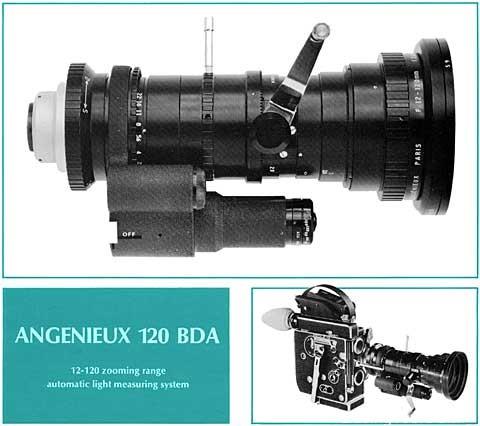 Pierre Angenieux安琴法国光学公司历史以及电影镜头列表
