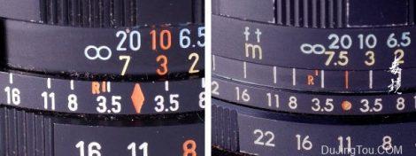 用于紫外线成像的传统镜头: 初步选择标准