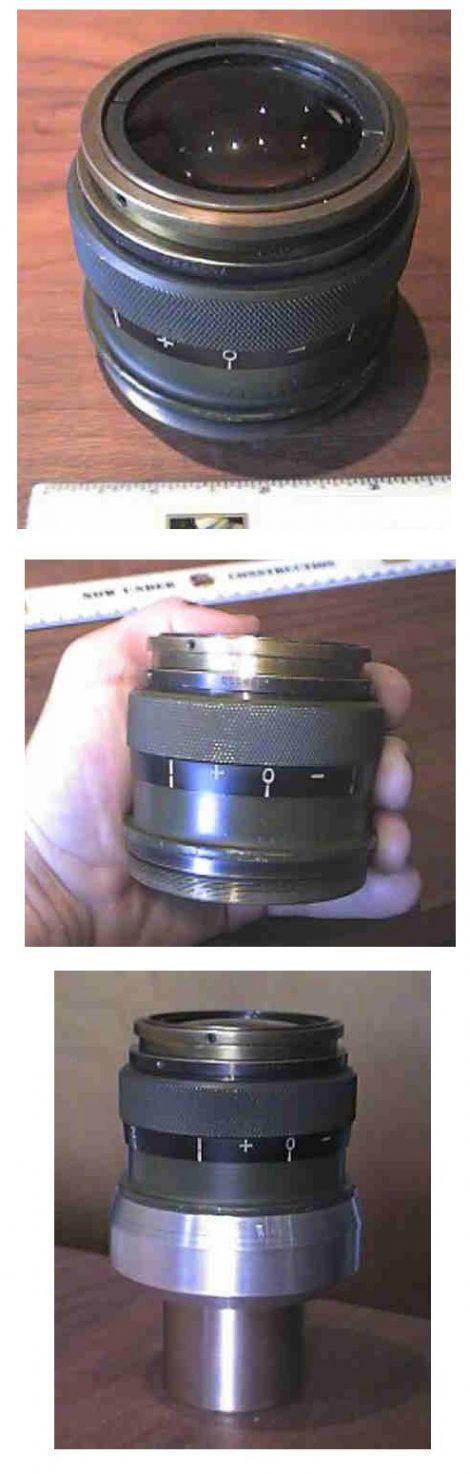 辐射镜头:放射性目镜
