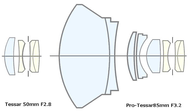 Carl Zeiss Tessar 50mm F2.8 和 Pro-tessar 85mm f3.2镜头测试及样片