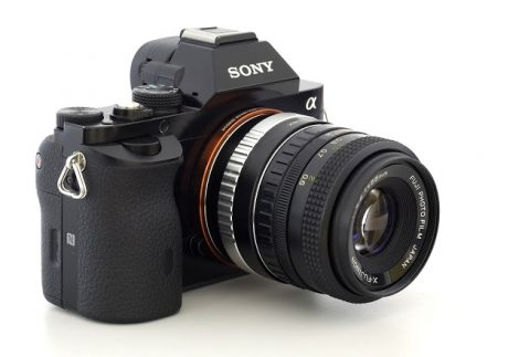 Fuji Photo Film X-Fujinon 55mm F2.2镜头改口镜头测试及样片