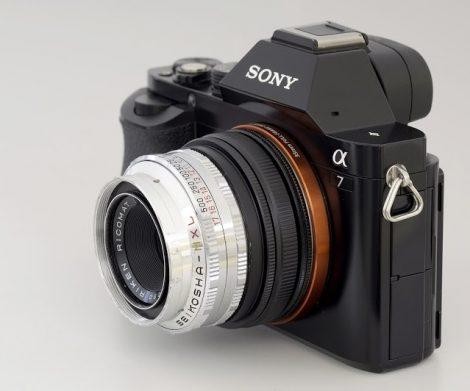 Tomioka Ricomat 45mm F2.8从Ricoh 35 DeLuxe 相机改头镜头测试及样片