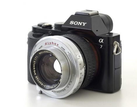 Wollensak Dumont CRO Oscillo-Raptar 50mmF1.5镜头测试及样片