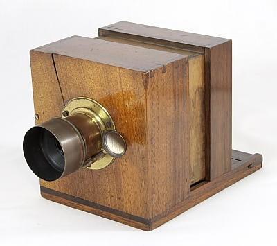 早期湿板银盐相机(1851年版)Daguerreotype Camera