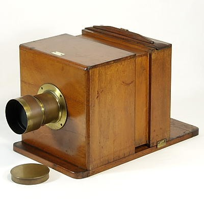滑盒湿板相机 Sliding Box Wet-plate Camera