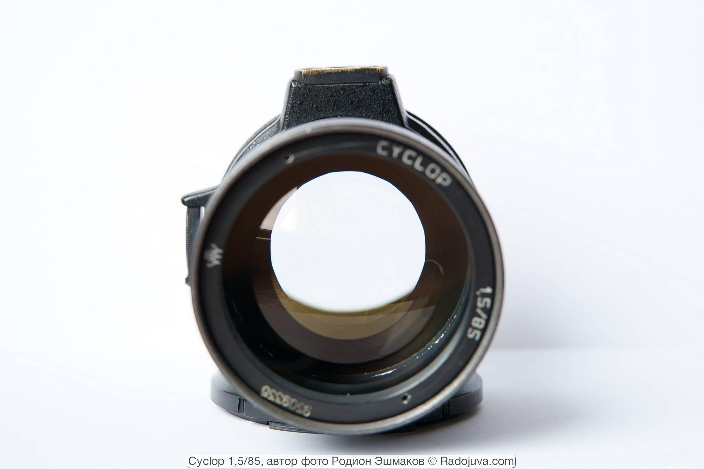 苏联镜头:Cyclop 1,5 / 85 (ROMZ)夜视镜头资料及样片 - Helios-40-2 的技术版本