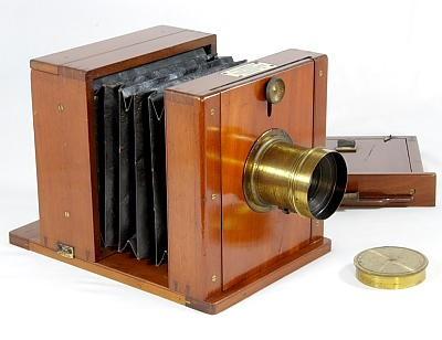 Bellows Wet-plate Camera