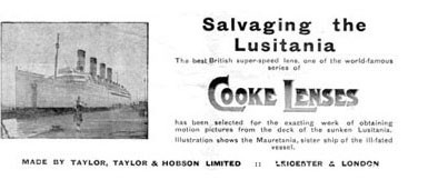 Cooke库克光学大历史(1893-2020持续运营中)