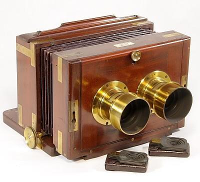 Stereo Wet-plate Camera 立体湿板相机