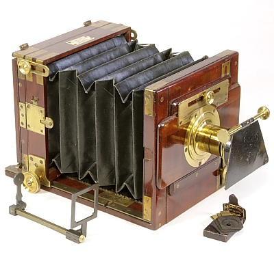 Transitional Wet-plate Camera 过渡湿板相机